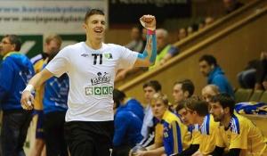 Ivkovič, zimní posila Baníku, oslavuje jeden ze svých deseti gólů